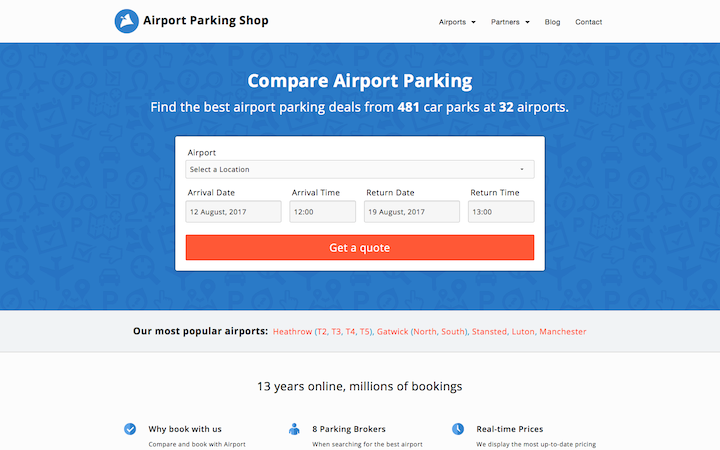 Airport Parking Shop