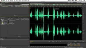 Adobe Audition interface